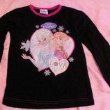 футболка реглан для девочки -холодное сердце Disney Индия