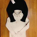 Гольф свитер с рюшами вязаный, примерно, на 1 6 - 4года в наличии