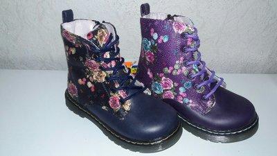 Утепленные ботинки 23,24 р. B&G Little Deer на девочку флисе, осенние, весенние, деми, демі, би-джи