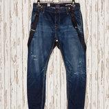 Джинсы темно-синие Pull&Bear 42р объем на 32-33р Оригинал