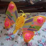 32.каталка на палке бабочка