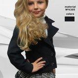 Детский пиджачок Стильняжка Рост 128,134,140,146
