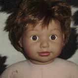 Скидка большая кукла Сэм Sam Zapf Сreation клеймо номер Германия оригинал 65 см