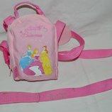 Вожжи вожки - рюкзак Disney Дисней Принцессы первые шаги