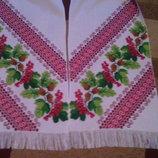 Свадебный рушник ручная работа- вышивка крестик