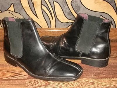 Кожаные ботинки На стопу 30 см. Натуральная кожа Отличное состояние
