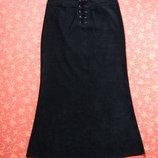 размер 14 L , Женская демисезонная юбка Etam, б/у.