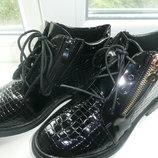 Стильные демисезонные ботиночки 39,40 размер