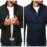 Куртка пиджак стеганая мужская