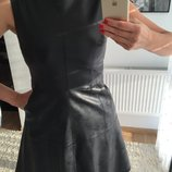Платье Dilvin эко кожа состояние нового