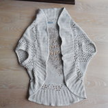 накидка М L женская кофта пиджак болеро кардиган модное беж Per una