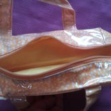 Желтая сумочка - косметичка Avon