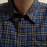 Рубашка, шведка мужская Most Пакистан новая на 16-18лет