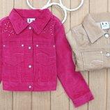 В наличии Вельветовые фирменные жакеты пиджаки для девочек
