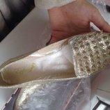 Продам новые стильные лоферы балетки туфли женские Zara Dior miu LV dolce