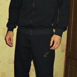 Спортивный трикотажный костюм Nike с капюшоном, манжет.