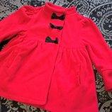 Пальто на осень-весну из флиса 3Т