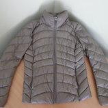 Куртка женская разм. М, пуховик пух зима осень Uni Qlo