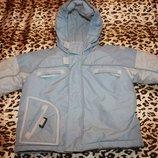 Куртка зимняя детская р 80 Decathlon creation для мальчика состояние новой