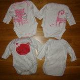 Боди с длинным рукавом Next для новорожденных, для роддома