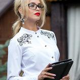 Женская класическая блуза 663