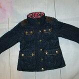 Стеганная куртка с кожаными вставками I Love Next 3-4г