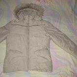 Куртка Here&There Германия на 152-158 рост. Зимняя. Куртка на плотном,теплом утеплителе подкладка ф