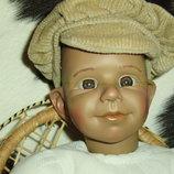 редкая коллекционная характерная кукла Lotti Petra Jeckle Испания оригинал клеймо винтаж 48 см