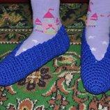 Балетки-Носочки вязанные