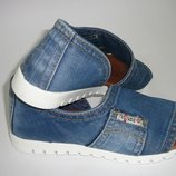 Ersax стильные джинсовые открытые туфли 35,36,37,38,39,40,41 есть примерка в Киеве.
