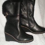 Зимние сапоги, ботинки женские размер 36 и 37