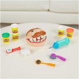 Play-Doh Игровой набор Стаматолог Зубастик обновленная версия Doctor Drill N Fill Playset