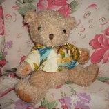 Медведь Мишка Медвежонок в рубашке 20 см.
