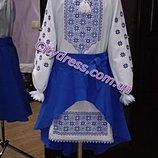 вышиванка, вышитое платье , платье с вышивкой под заказ пошив