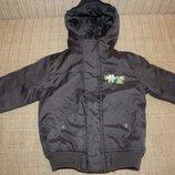 Куртка детская зимняя и на холодную осень р 104 Kiki&Koko отличное состояние