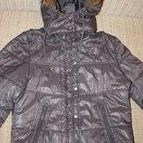 Куртка зимняя и на холодную осень для девочки Blackout р 158-164-170 отличное состояние