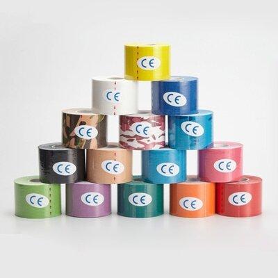Кинезио Тейп Kinesio Tape 5см х 5м, 7, 5см х 5м, 10см х 5м Акция