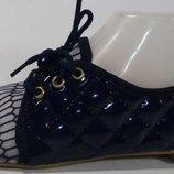 Балетки-Мокасины,не жаркие,носок-сетка 2 цвета. Турция.