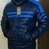 Куртка евро-зима юниор синяя