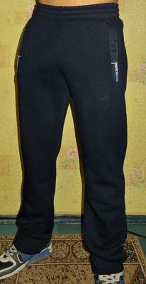 Спортивные теплые штаны Everest синие прямые.