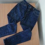 Джинсы женские 36 10 размер рваные River Island Ривер Айленд синие
