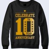 Свитшот Celebrate 10 anniversary