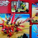 Конструктор Ninja, дракон, фигурки,315, 353дет, кор-ке