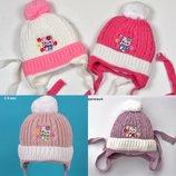 Детская зимняя шапка Китти для девочки от 3 месяцев 40 42 44