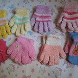Перчатки для девочки, варежки