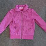 Куртка кожанная на девочку р.110