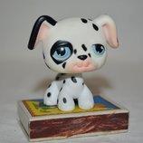 Пет шопы pet shop игрушки зоомагазин Littlest pet shop LPS разные зверюшки щенок песик стоячка Сдела