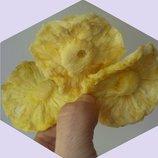 Вяленый натуральный ананас 1 кг. Десерт сладкоежкам, желающим похудеть