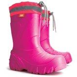 Сапоги Демар мамут зимние резиновые сапоги розовый