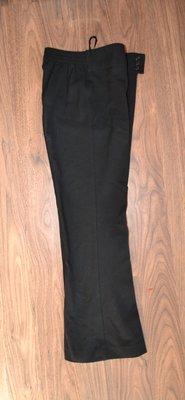 Школьные штаны, брюки рост 128 см, черный цвет. Большемерят.